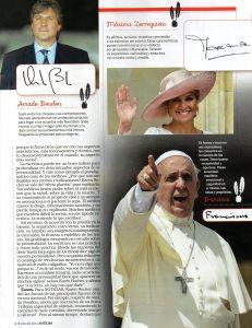 Revista Noticias: Análisis de famosos